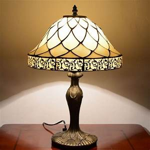 lucia 12inch tiffany table lamp With lucia tiffany floor lamp