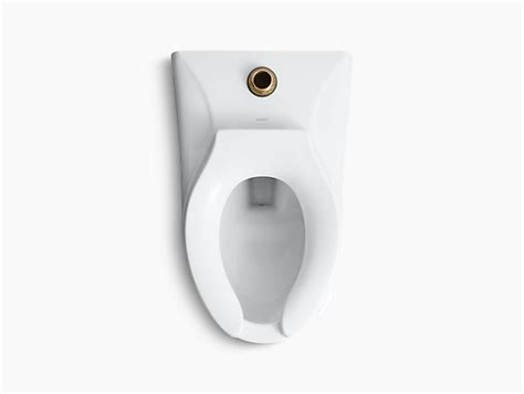eljer toilet kingston wall mounted 1 28 gpf or 1 6 gpf flushometer