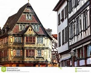 Häuser In Deutschland : historische mittelalterliche h user in der alten stadt miltenberg deutschland stockfoto bild ~ Eleganceandgraceweddings.com Haus und Dekorationen