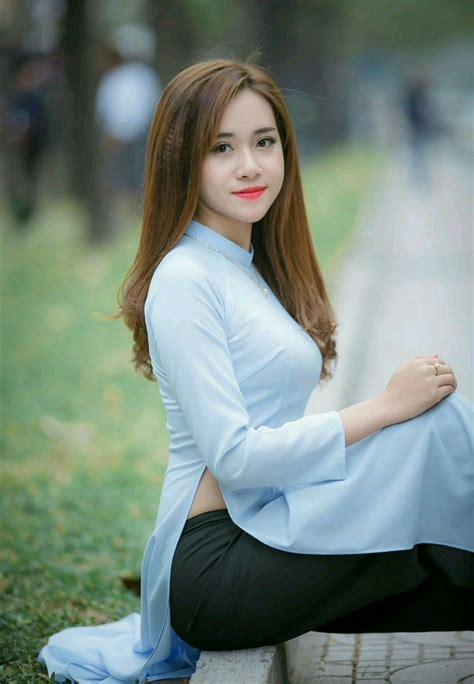 Ghim Ca Nh Dng Cao Trn O Di Vietnamese Dress Dresses V Beautiful Asian Girls