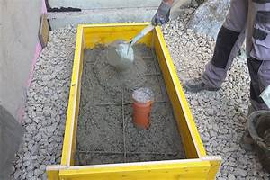 Wärmepumpe Selber Bauen : kleinen betonsockel betonieren anleitung ~ Buech-reservation.com Haus und Dekorationen