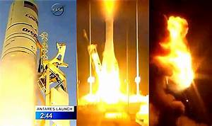 NASA-contracted Orbitual Sciences Corporation's Antares ...
