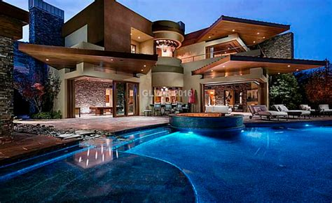 14,000 Square Foot Contemporary Mansion In Las Vegas, Nv