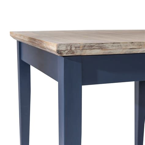 navy blue kitchen table set florence square extended table navy blue kitchen table
