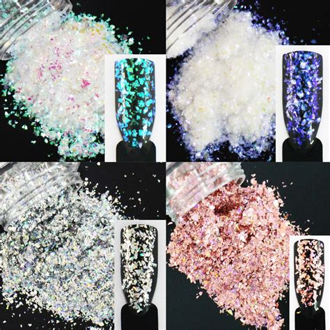 Aliexpress.com : Buy 30g/pack, 18 Colors Choices! Glitters Irregular Sequins Nail Art Glitters ...