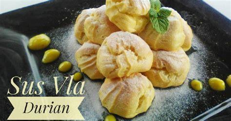 Roti gabin secukupnya 300 gram daging durian gula pasir secukupnya 40 gram tepung. Vla durian - 55 resep - Cookpad