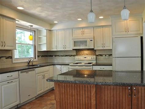 backsplash in kitchen white cabinets and mountain mist silestone counters 5820