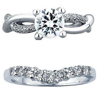 how to a wedding band that works with your engagement