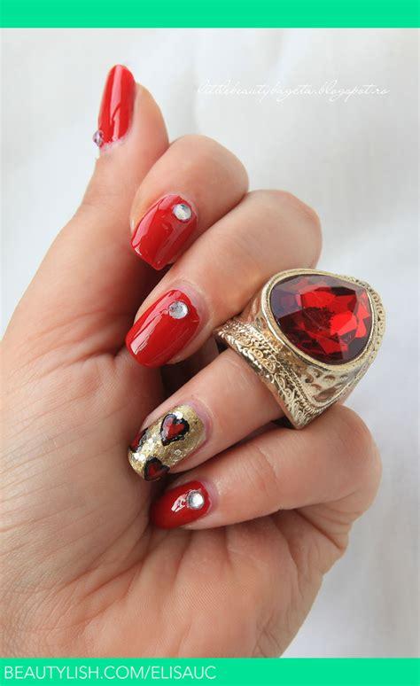 red nails elisa  elisauc photo beautylish