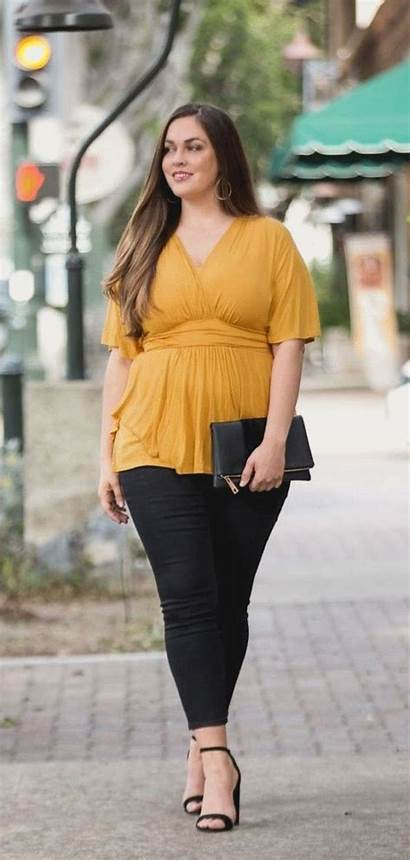 Curvy Outfits Gorditas Outfit Classy Ropa Adorable