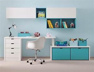 Bureau Enfant Avec Rangement : bureau enfant avec meuble de rangement et niche d co asoral so nuit ~ Melissatoandfro.com Idées de Décoration