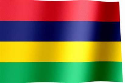 Flag Mauritius Animated Waving National Flags