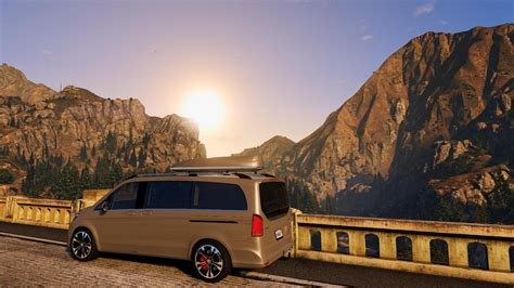 Mercedes V Class Hd Picture by Mercedes V Class 250 Bluetec Lwb Animated Add On