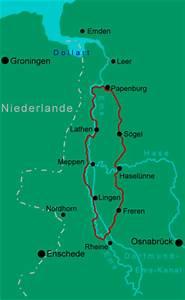 Touristische Infos Emslandroute