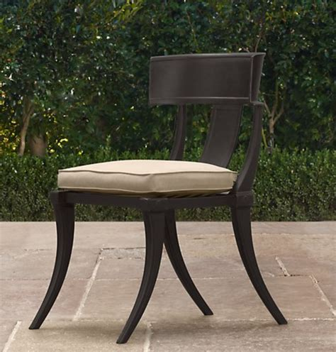 furniture restoration hardware inspired outdoor table and