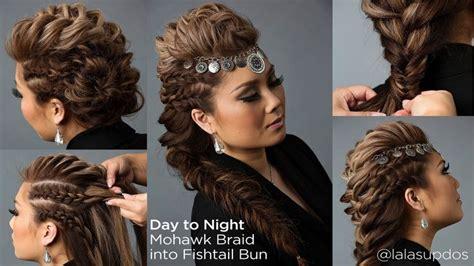 Best 25+ Braided Mohawk Hairstyles Ideas On Pinterest