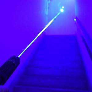 445nm Strongest Handheld Focus Adjustable Blue Laser Pointer