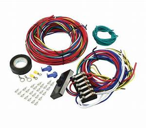 Empi Universal Wiring Harness With Fuse Box 9466 Vw Dune