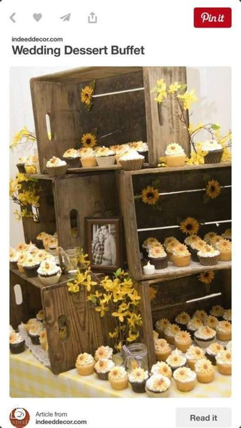 Wedding Cundiff wedding Rustic wedding desserts
