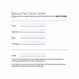 medical fax cover sheet 14 documents in pdf word With fax cover medical