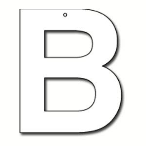 cut out letter b cardboard ea supplies cut out letter b cardboard ea supplies 12226