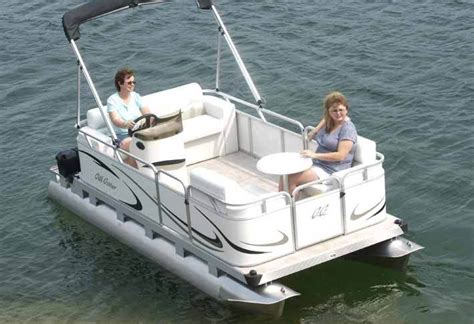 Gillgetter Pontoon Boats by Research Gillgetter Pontoon Boats 715 Family Cruise On