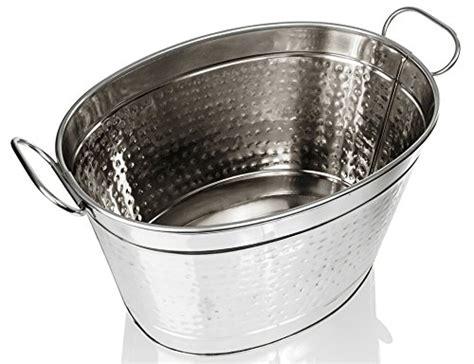 stainless steel tub prices sleek stainless steel beverage tub hammered large