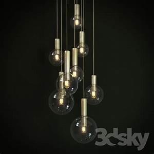 D models ceiling light lights