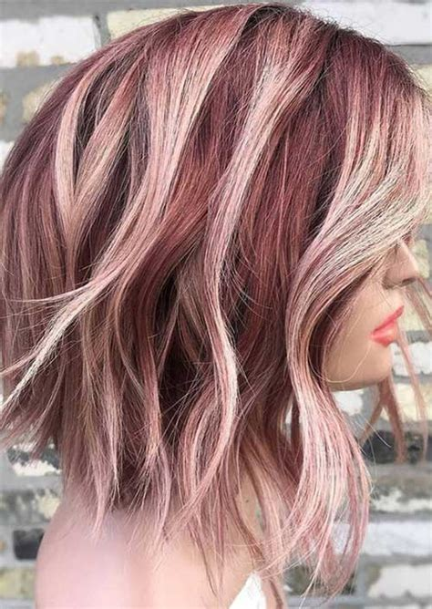 latest trend hair color ideas  short hair short