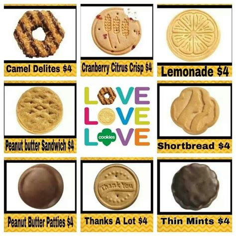 scout cookie 2014 girl scout cookies girl scouts daisy brownies pinterest girl scouts girl scout