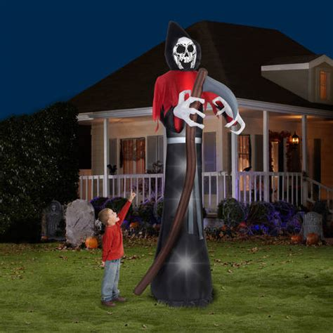 Gemmy Inflatable Halloween House by See Airblown Inflatable Halloween Decorations Nifty Home