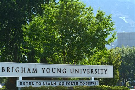 Byu Is Nation's Most 'stone-cold Sober' University For