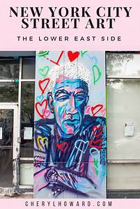 New York City Street Art On The Lower East Side