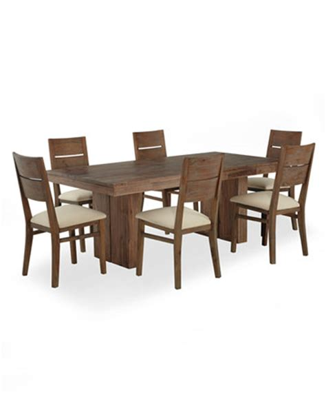 Macys Dining Room Table And Chairs by Chagne Dining Room Furniture 7 Set Only At Macy