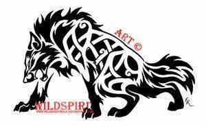 Tatouage Loup Celtique : loup agressif dessin pinterest tatouage loup tatouage viking et signe celtique ~ Farleysfitness.com Idées de Décoration