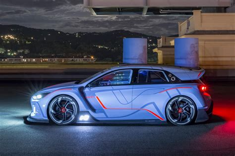 Performance Cars : Race Ya! Hyundai Rn30 Concept Takes New N Performance