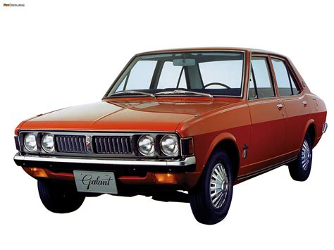 Mitsubishi Colt Galant Sedan (I) 1969–73 photos (1600x1200)