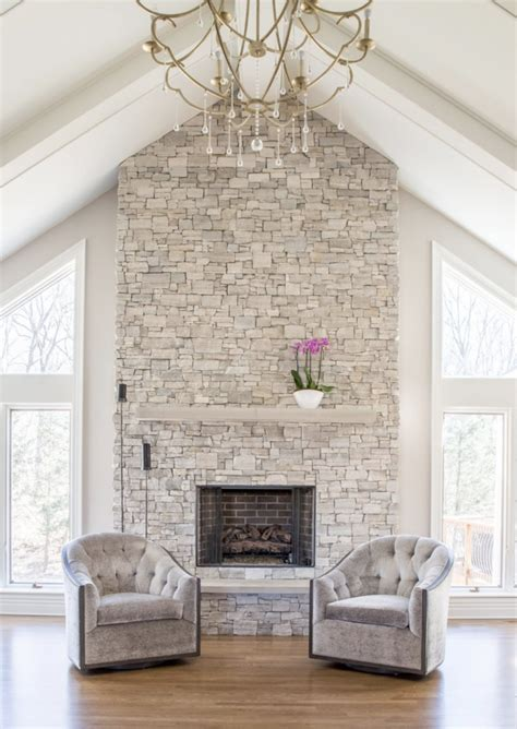 11 Stone Veneer Fireplace Design Trends   Realstone Systems