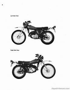 Kawasaki Ks125 Ke125 1974