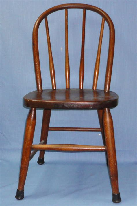 oak bow back child chair haywood wakefield baltimore