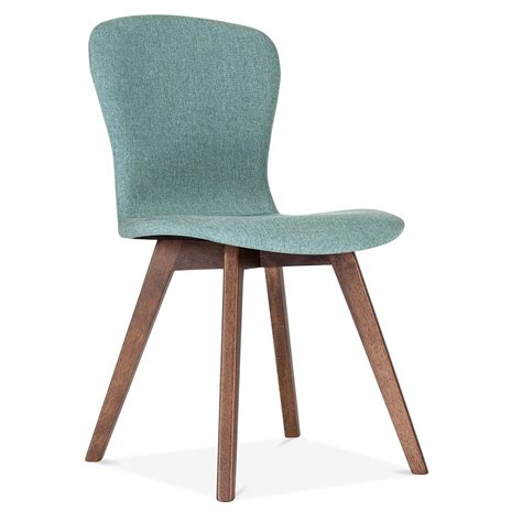 cult living hudson upholstered dining chair soft teal