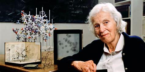 professor dorothy hodgkin om  faces  chemistry