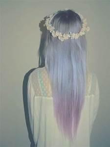 lavender grey hair | Tumblr