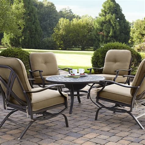 grand harbor 4pc chat set chairs neutral limited