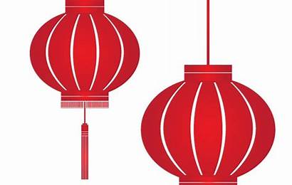Lantern Chinese Clipart Vector Clip Lampion Japanese