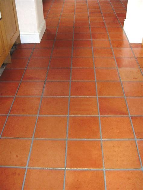 Terracotta Kitchen Floor cleaning Epsom, Surrey Tile