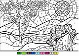 Coloring Spring Worksheets Printable Sheets Paint Numbers Advanced Castle Bouncy Dot Supercoloring Paper Bangor Categories sketch template