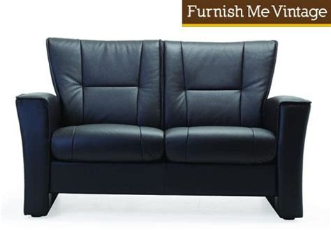 Low Back Reclining Sofa by Fjords Aalesund Low Back Two Seat Reclining Loveseat