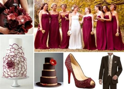 Burgundy Wedding Oxblood / Burgundy Wedding #2055251