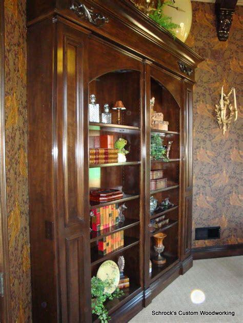 Swinging Bookcase by Custom Designed Swinging Bookcase Homebuilding